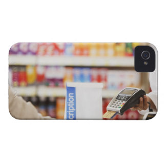 Hållande säkerhetsapparat för Pharmacist för kund iPhone 4 Fodral