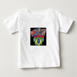Hållbar bebisromper, mångfärgade skinndribblingar tröjor