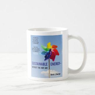 Hållbar energi - utan hettluften kaffemugg