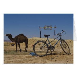 Hållbar transport hälsningskort