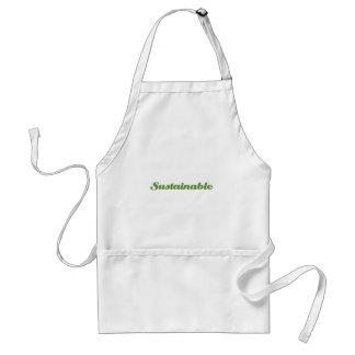 Hållbart Förkläde