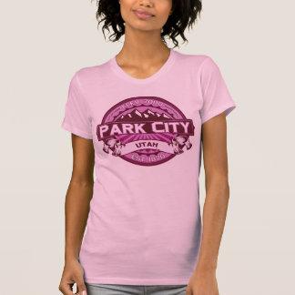 Hallon för Park City färglogotyp T Shirts