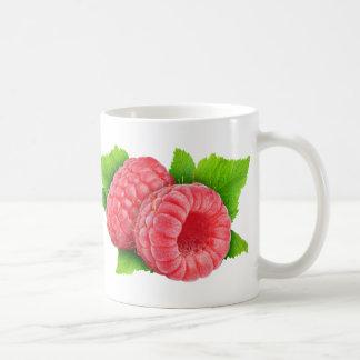 Hallon med löv kaffemugg