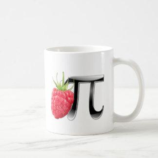 Hallon- och Pi-symbol Kaffemugg