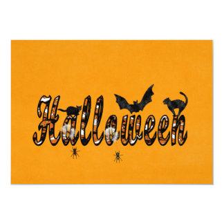 Halloween 12,7 X 17,8 Cm Inbjudningskort