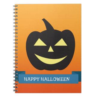 Halloween Anteckningsbok Med Spiral