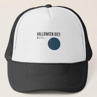 Halloween bantar sötsakfester och godisdesign truckerkeps