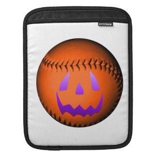 Halloween baseball iPad sleeve