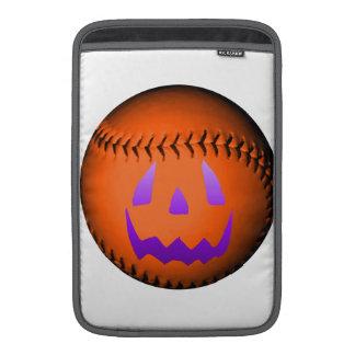 Halloween baseball sleeve för MacBook air
