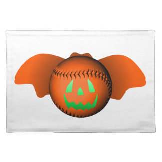 Halloween baseballfladdermöss bordtabletter
