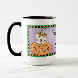 Halloween Bichon Mugg