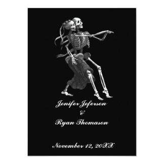 halloween bröllopinbjudan 14 x 19,5 cm inbjudningskort