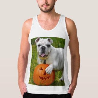 Halloween bulldogg tanktop