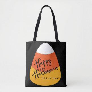 Halloween candy corn hänger lös tygkasse