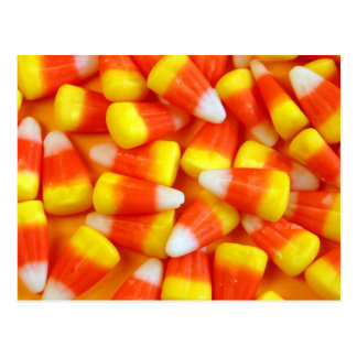 Halloween candy cornvykort vykort
