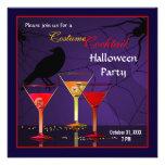 Halloween cocktailpartyinbjudan tillkännagivanden