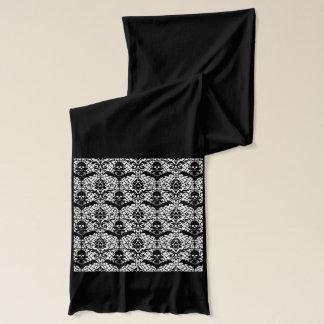 Halloween damast sjal