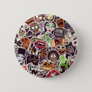 Halloween fasor standard knapp rund 5.7 cm