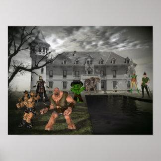 Halloween fest poster