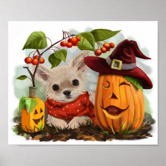 Halloween för Chihuahuas Poster