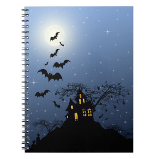Halloween husanteckningsbok anteckningsbok