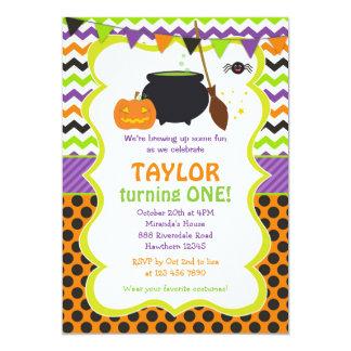 Halloween inbjudan/Halloween födelsedaginbjudan 12,7 X 17,8 Cm Inbjudningskort