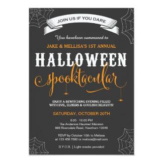 Halloween inbjudan/vuxen halloween fest 12,7 x 17,8 cm inbjudningskort