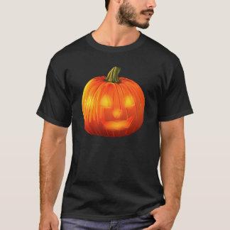 Halloween jack o lanternt-skjorta svart tröja