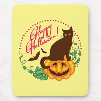 Halloween katt mus mattor