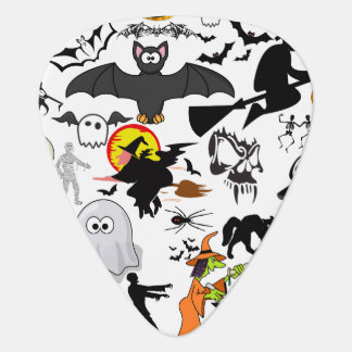 Halloween Mashup Gitarr Plektrum