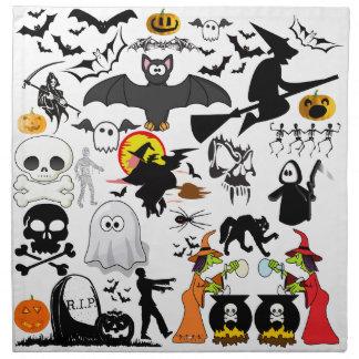 Halloween Mashup Näsduk