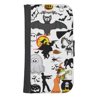 Halloween Mashup Plånbokskydd För Mobil
