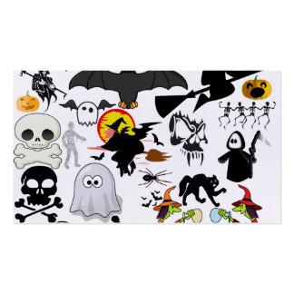 Halloween Mashup Set Av Standard Visitkort