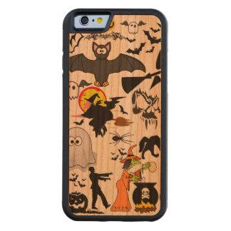 Halloween Mashup iPhone 6 Fodral I Körsbärsträ