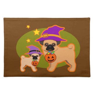 Halloween mops bordstablett