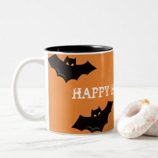 Halloween mugg - fladdermöss