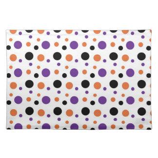 Halloween polka dots bordstablett