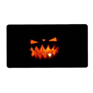 Halloween pumpa fraktsedel