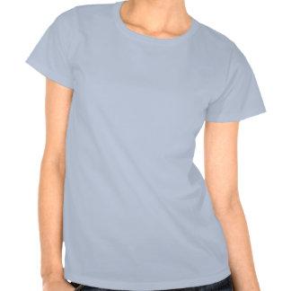 Halloween pumpa i baby blue t-shirt