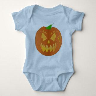 Halloween pumpa i ljust - blått tee shirts