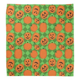 Halloween pumpor scarf