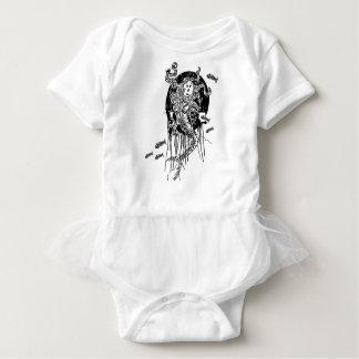 Halloween sjöjungfru t-shirts