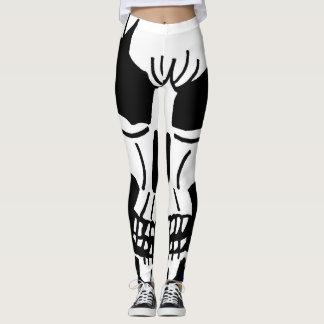 HALLOWEEN SKALLEdamasker Leggings