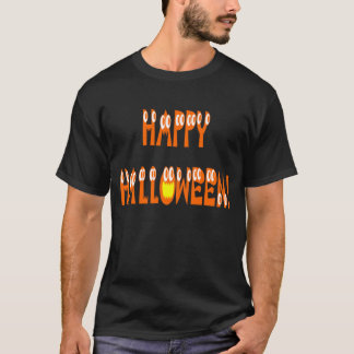 Halloween squashtext t shirt