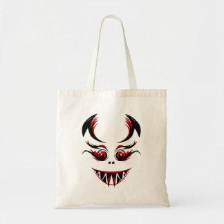 Halloween vampyr tote bag