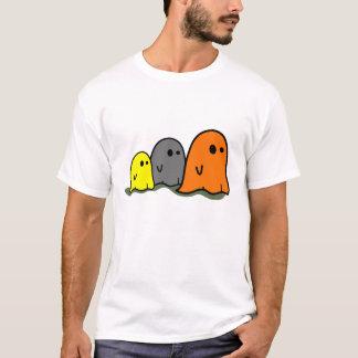 Halloween varar spökskrivareare den gulliga tshirts