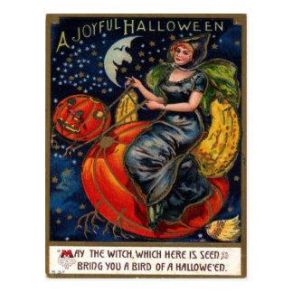 Halloween vintagevykort vykort