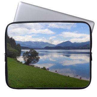 Hallstattersee sjö, alperna, Österrike Laptop Fodral