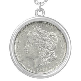 Halsband 1921 för Morgan silverdollar