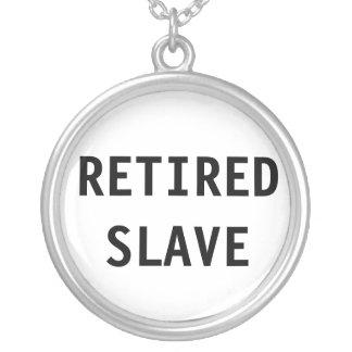 Halsband avgått slav-